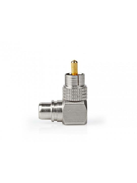 RCA vinkeladapter