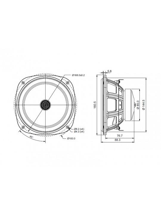 SB16PFC25-4 COAX