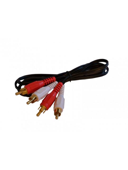RCA-Kabel, plast