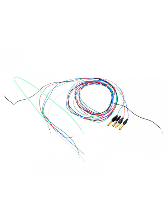 Tonarmskabel med kabelskor