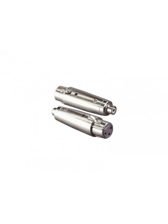 XLR-adapter (RCA-hona till  XLR-hona)