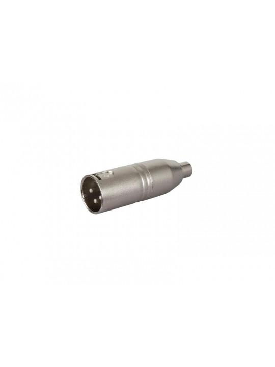 XLR-adapter (RCA-hona till  XLR-hane)