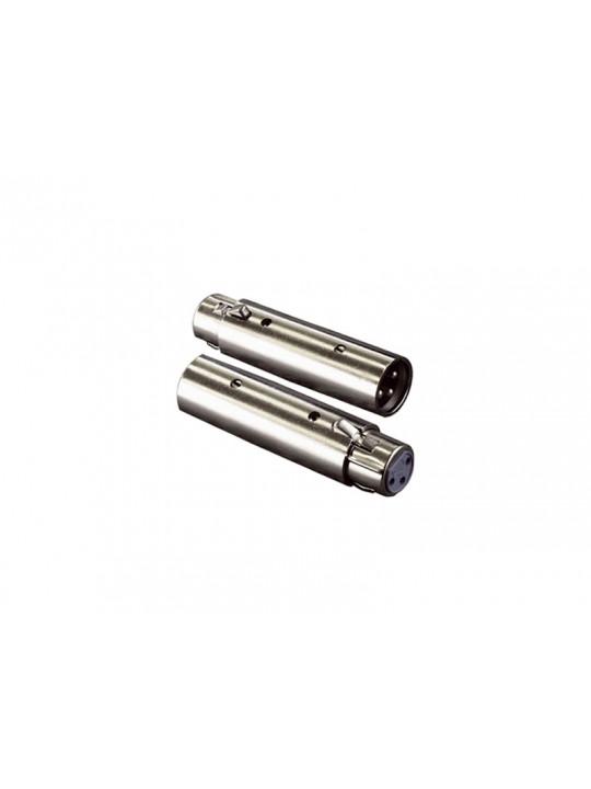 XLR-adapter (XLR-hane till XLR-hona)